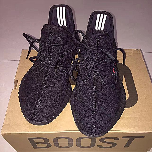 BRED' Core Black & Red Yeezy Boost 350 V2 (CP9652)