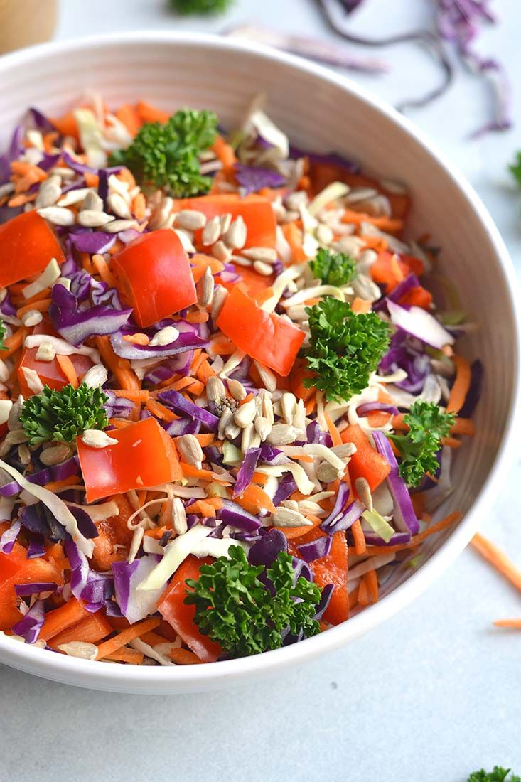 Thai Asian Salad With Nut Free Sunflower Dressing A -1137