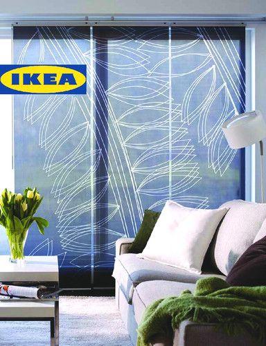 Ikea Flyn Jorun 3 Piece Panel Curtains For Kvartal Rail Dark Gray Sheers