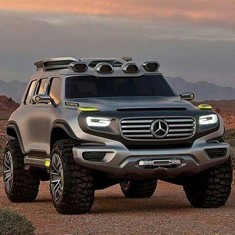 MercedesBenz Ener G Force - AutoCar