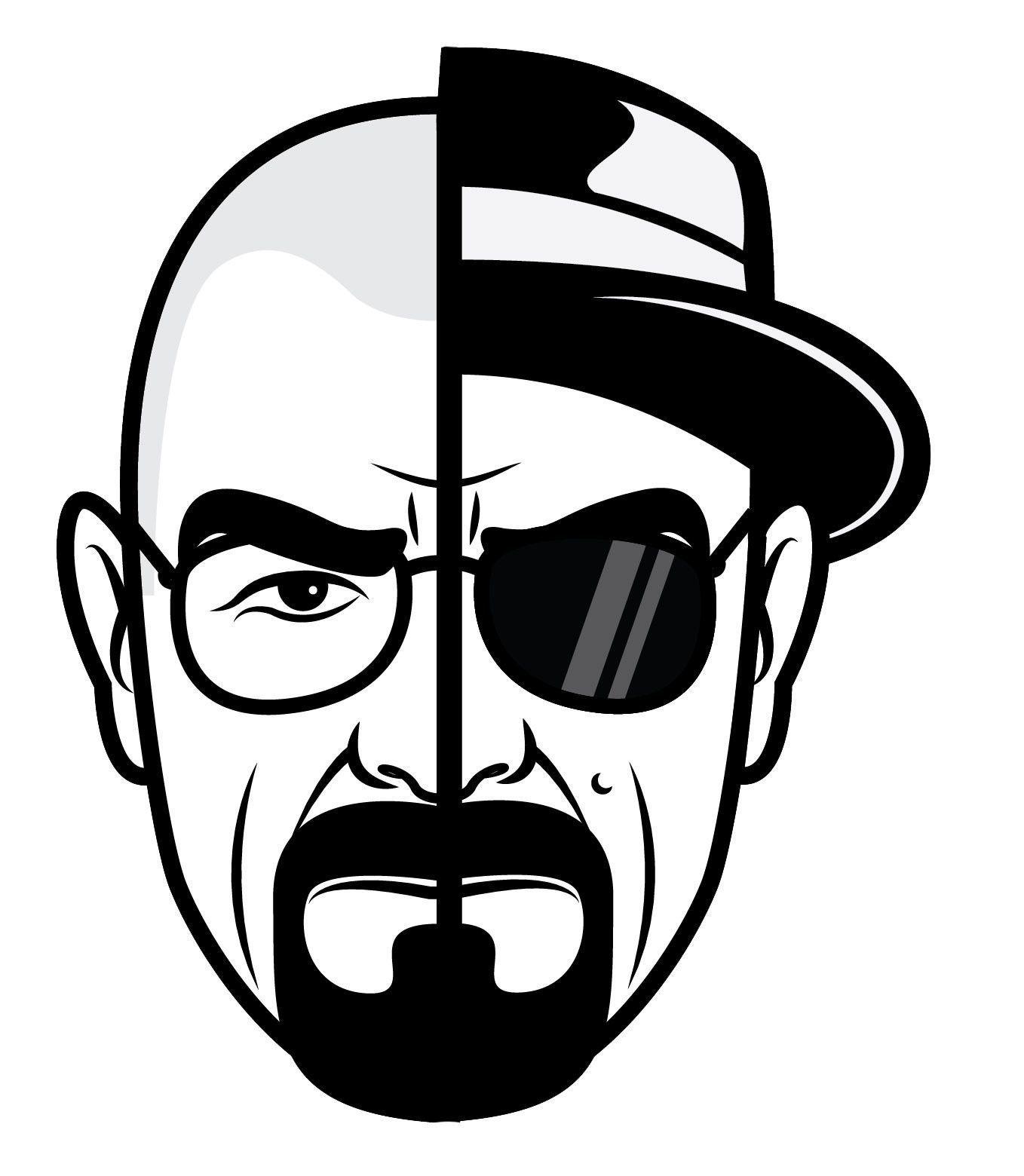7c546efb5 Breaking Bad Heisenberg Stickers - 5 in 2019   Breaking Bad ...