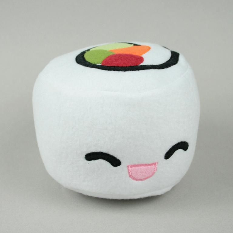 California Roll Sushi Plush pattern on Craftsy.com | Stuffed Animal ...