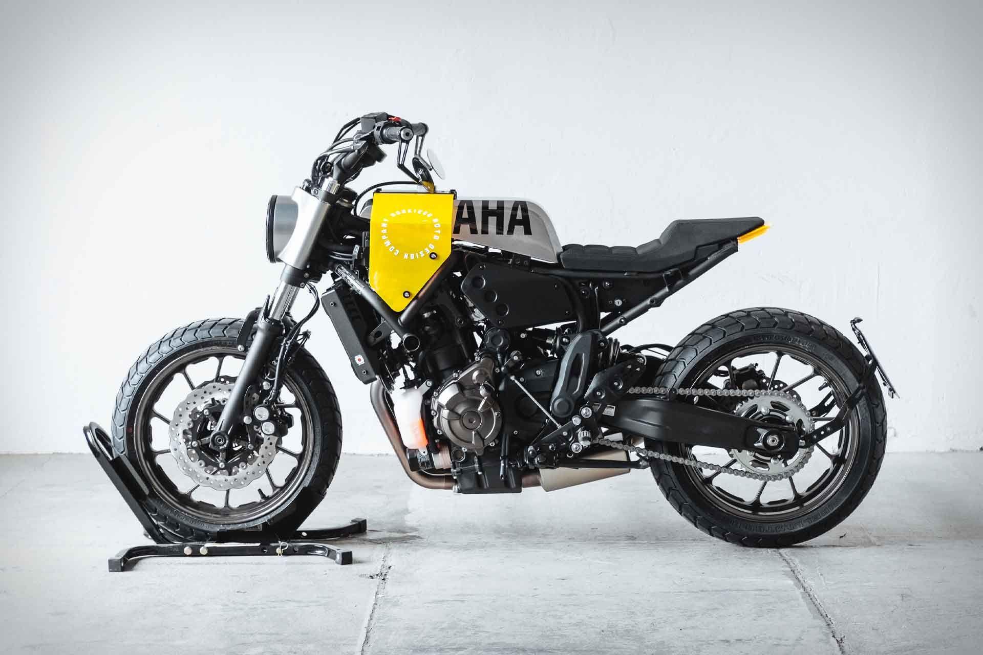 Awe Inspiring Hookie Co Yard Built Yamaha Xsr700 Motorcycle Evergreenethics Interior Chair Design Evergreenethicsorg