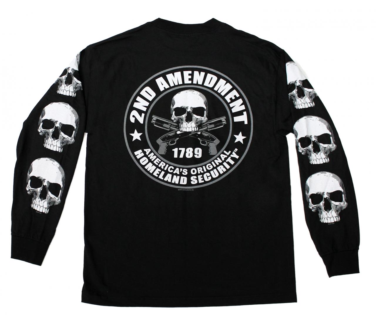 2nd Amendment Americas Original Homeland Security Mens Sweatshirt