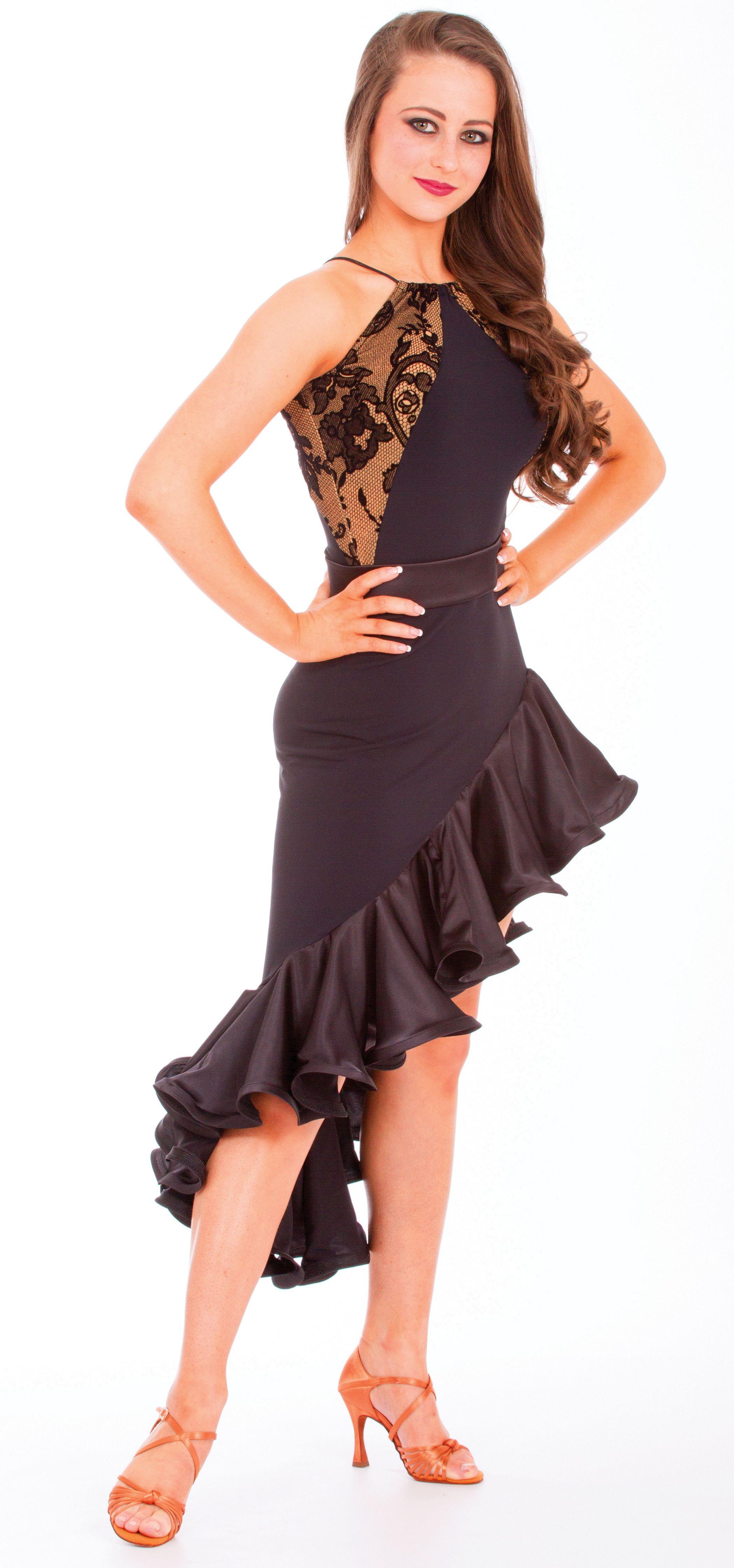 New Latin Salsa Tango Ballroom Dance Dress Evening Party Dress S M L ...
