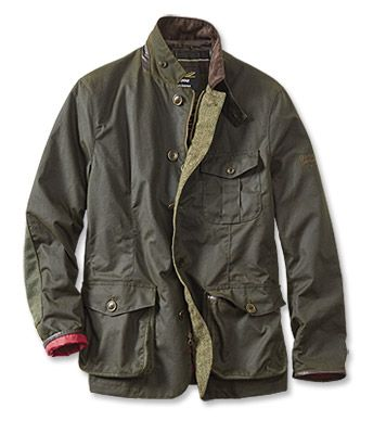 f645037c0b5 From the esteemed Land Rover Defender Collection comes the hard-wearing  Runal wax cotton jacket by Barbour. Fully weatherproof