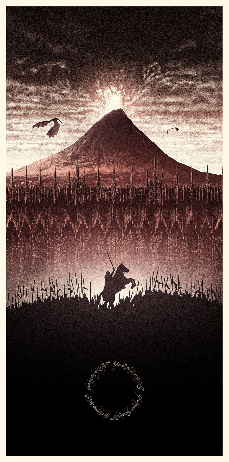 Amazing Lord Of The Rings Poster Art Lord Of The Rings The