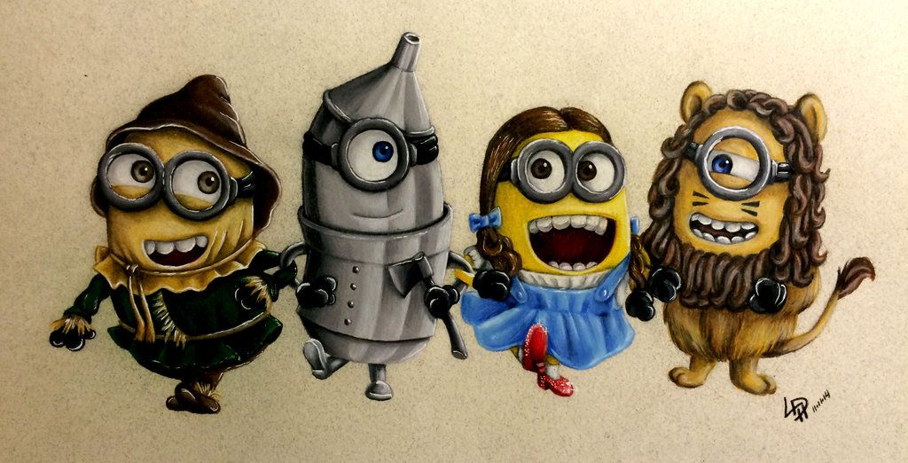 Minions Of Oz by Wolfish-Dreams.deviantart.com on @deviantART