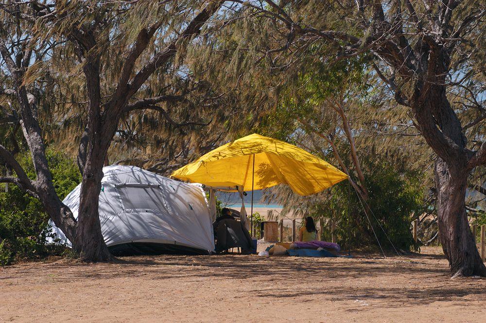 Beach Camping Camilla Beach South Of Mackay Qld