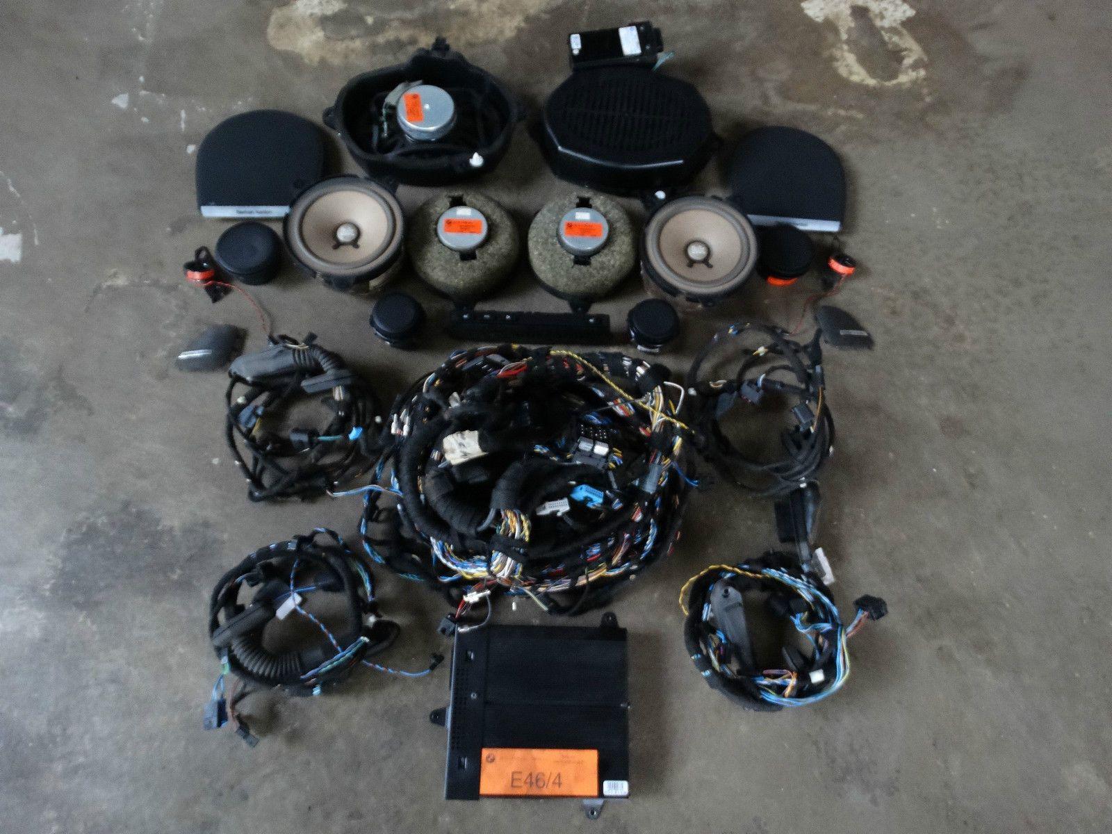 bmw e46 saloon speaker soundsystem harman kardon hifi complete set top ebay [ 1600 x 1200 Pixel ]