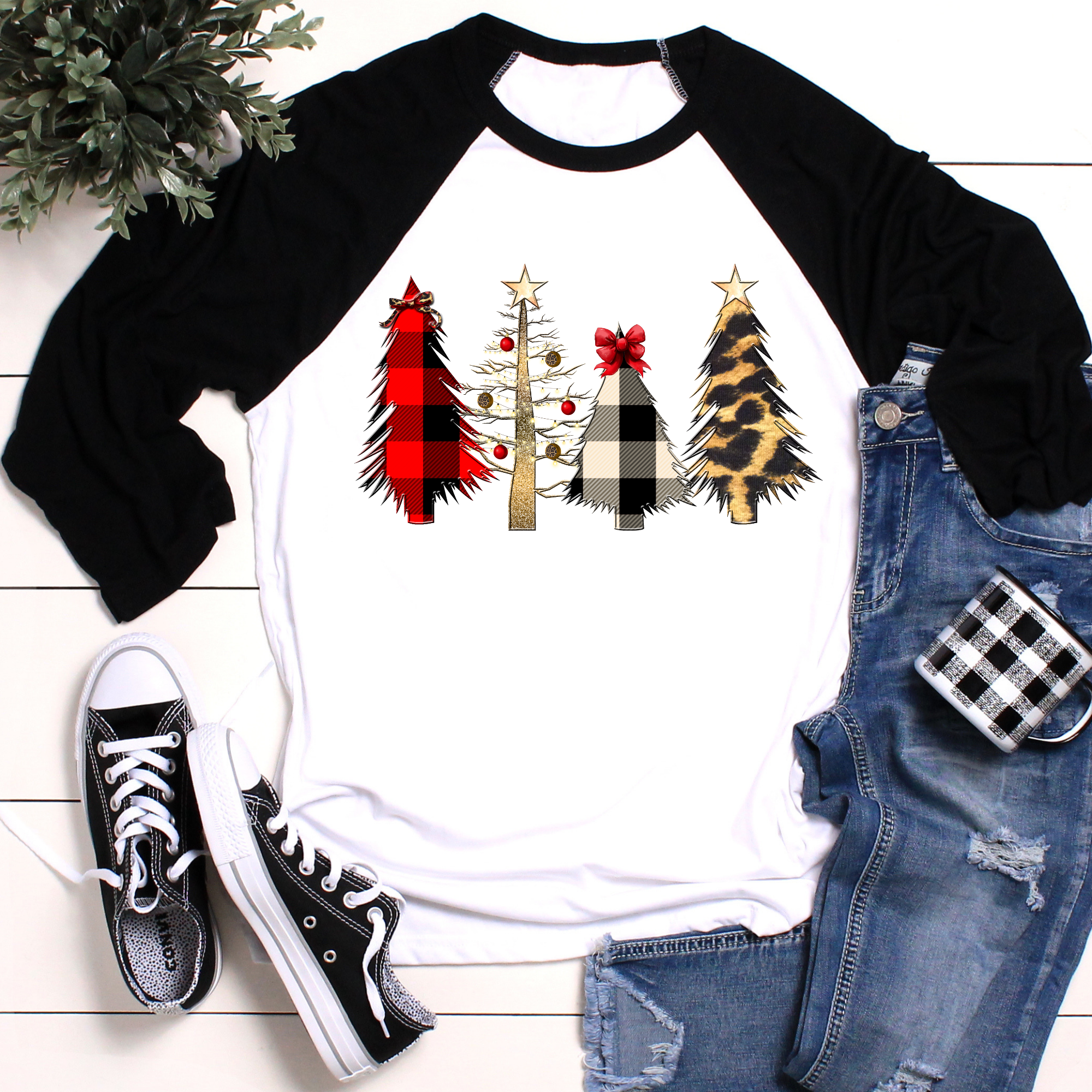 Merry Christmas Trees Shirt #inspireuplift explore Pinterest