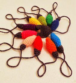 El blog de Perse: Foquitos de colores {DIY}