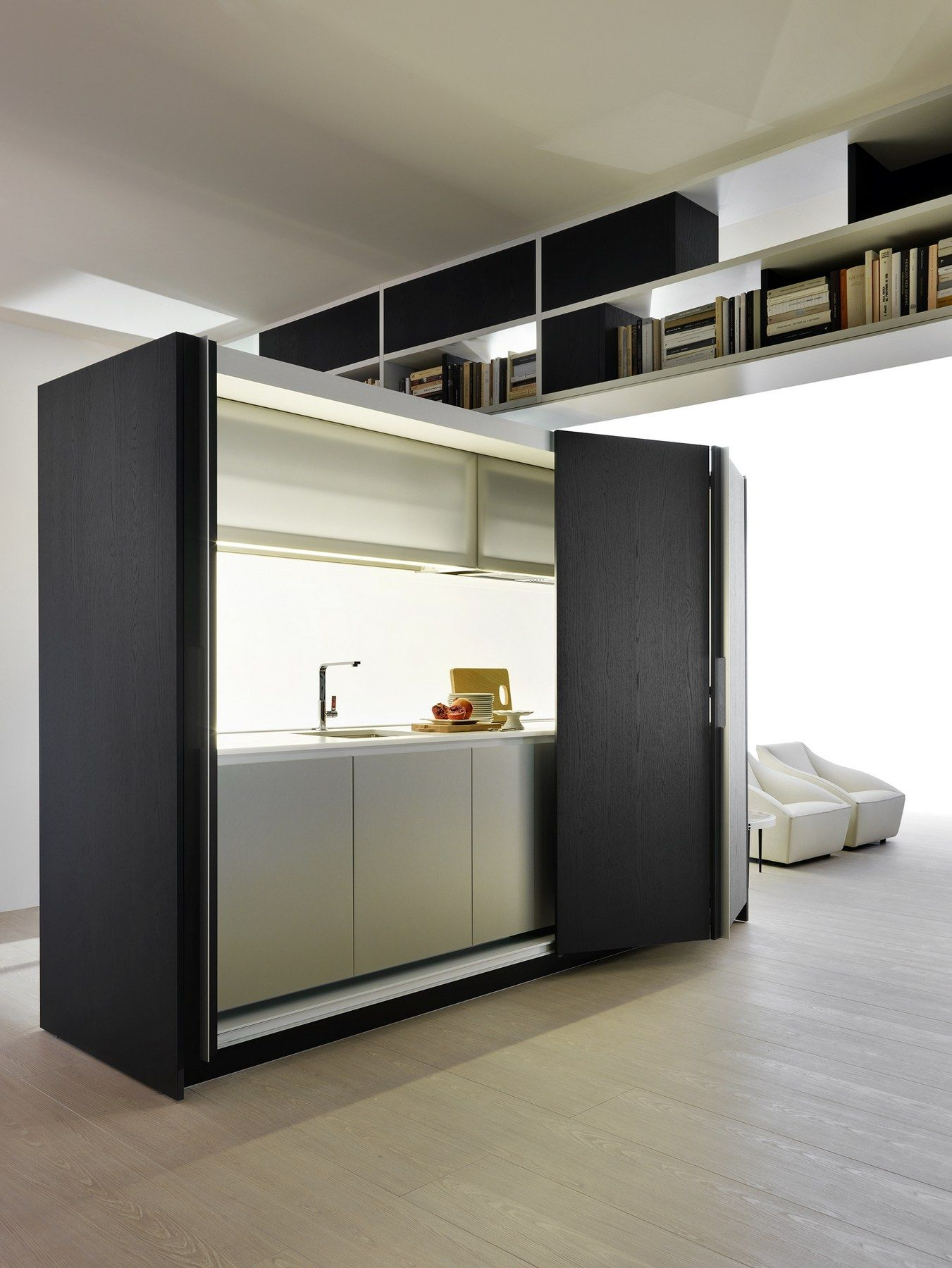 Cucina a scomparsa lineare tival by dada design dante bonuccelli kitchen kitchen kitchen - Cucine monoblocco ikea ...