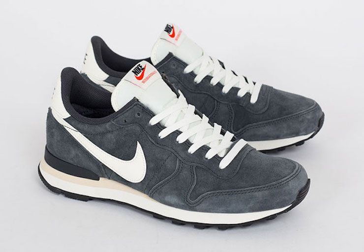 nike internationalist leather herren retro sneaker schwarz