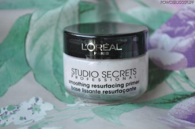 Review: L'oreal Studio secrets professional, Smoothing resurfacing primer - Kaya-Quintana