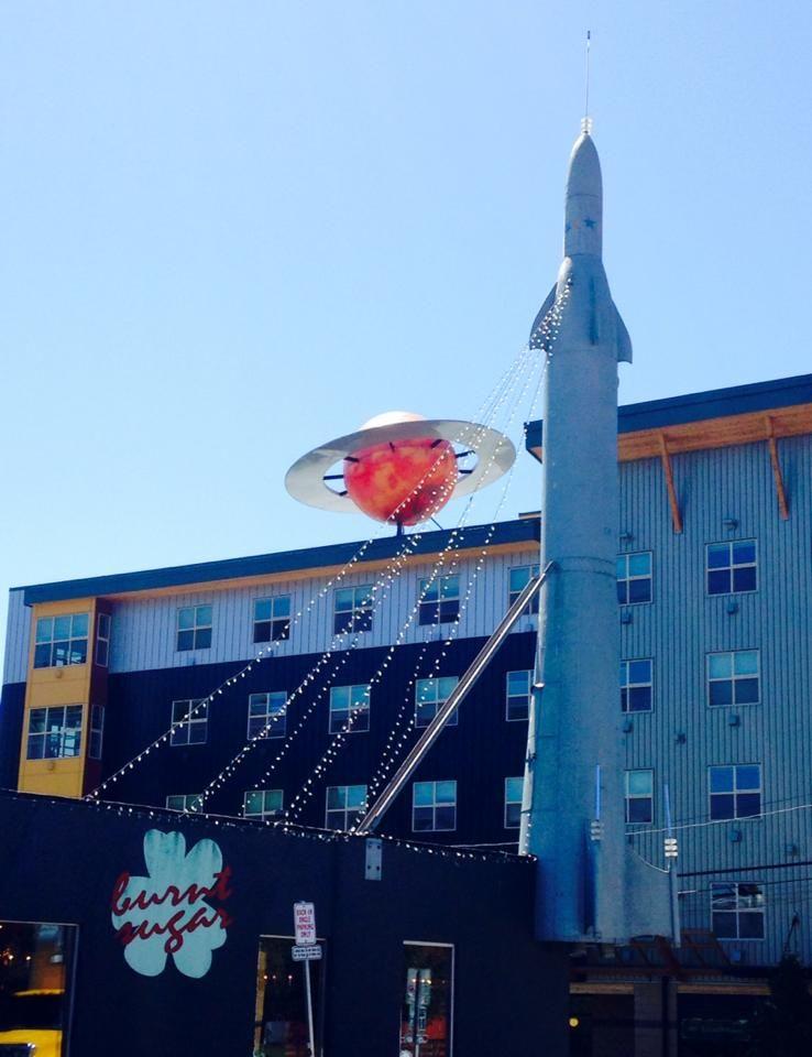 Fremont Rocket Center Of The Universe Fremont Seattle