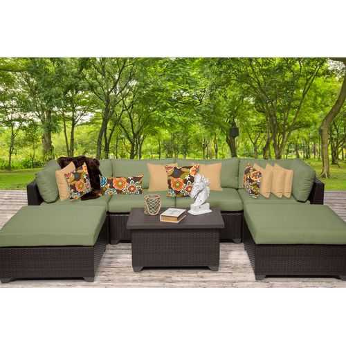 Found it at Wayfair - Belle 7 Piece Seating Group with Cushion