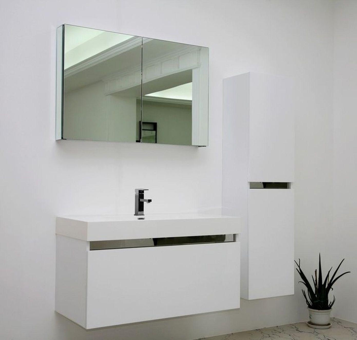 elegant-white-floating-bathroom-vanity-modern-design-for-minimalist ...