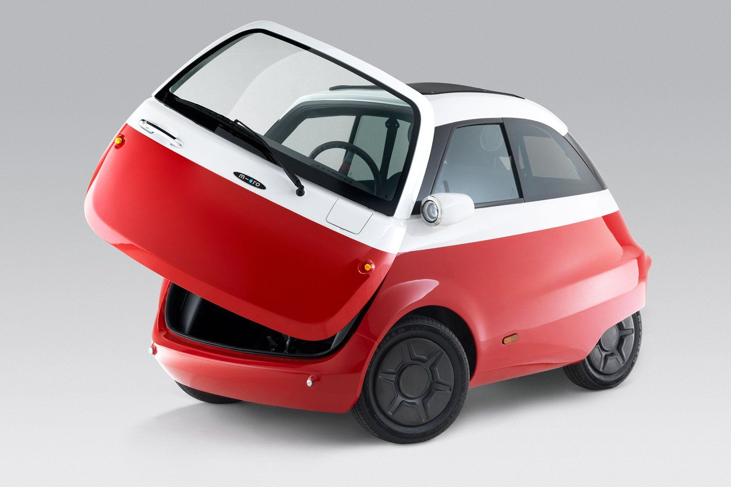 The Microlino A Front Loading Super Compact Vehicle From Swiss Mobility Company Micro Has Just Been Approved For European Street Bmw Isetta Isetta Ford Truck