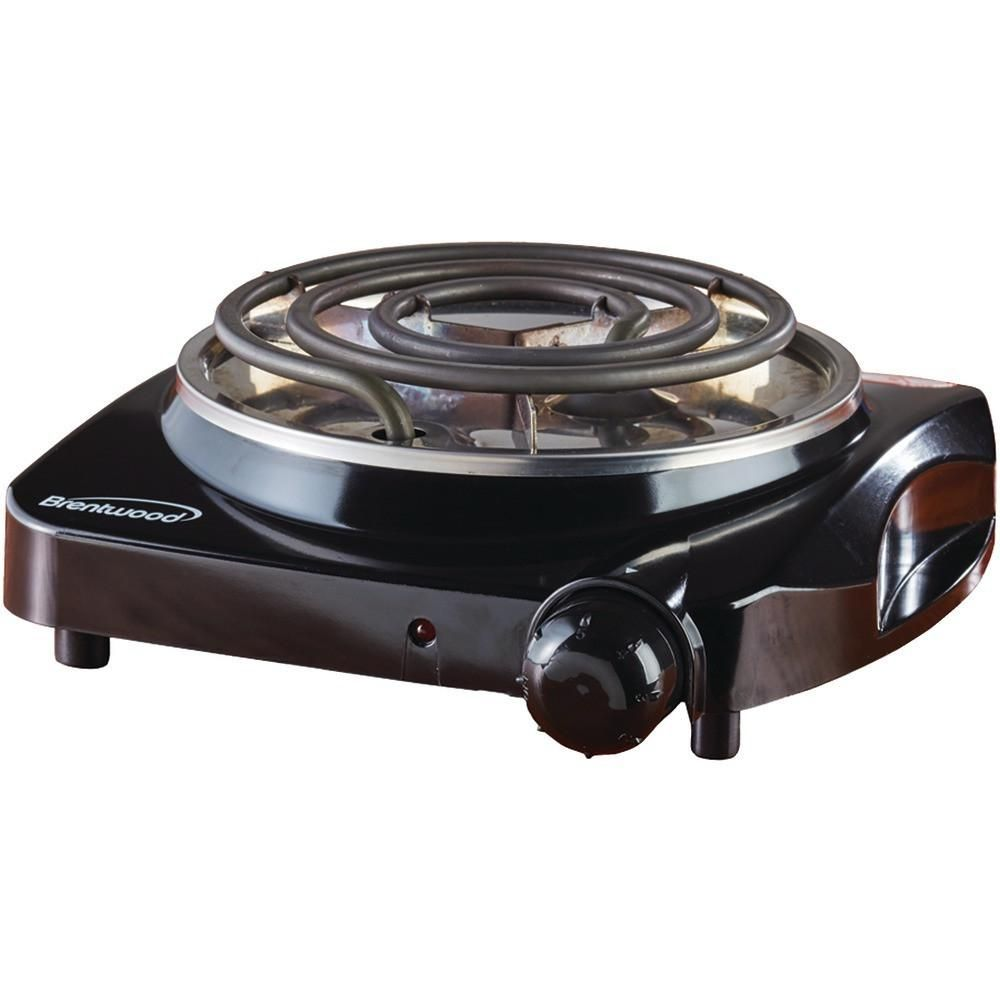 Brentwood Ts 306 Electric Single Burner Single Burner Electric Hot Plate Compact Kitchen Appliances
