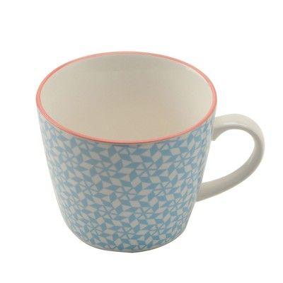 Henkelbecher Blau A L L B L U E Mugs Tableware Und Home