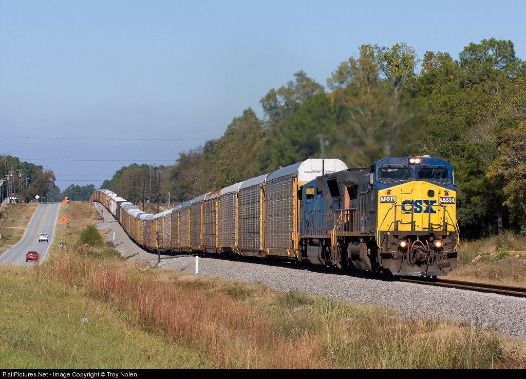 Csx train in waycross ga railpictures net photo csxt for Railpictures