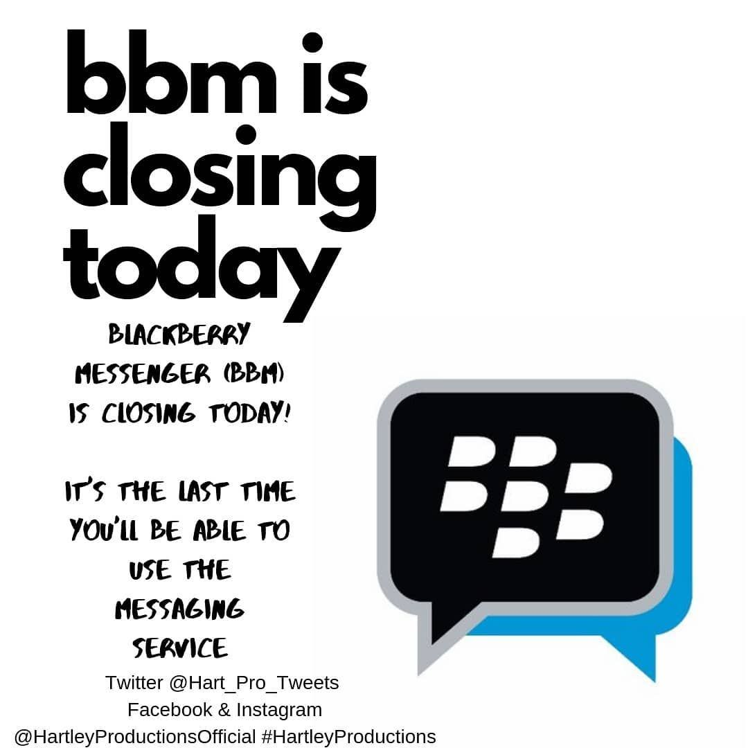 New The 10 Best Technologies Today With Pictures Today Is The Last Day You Re Able To Use Bbm Technology Today Instant Messaging Blackberry Messenger