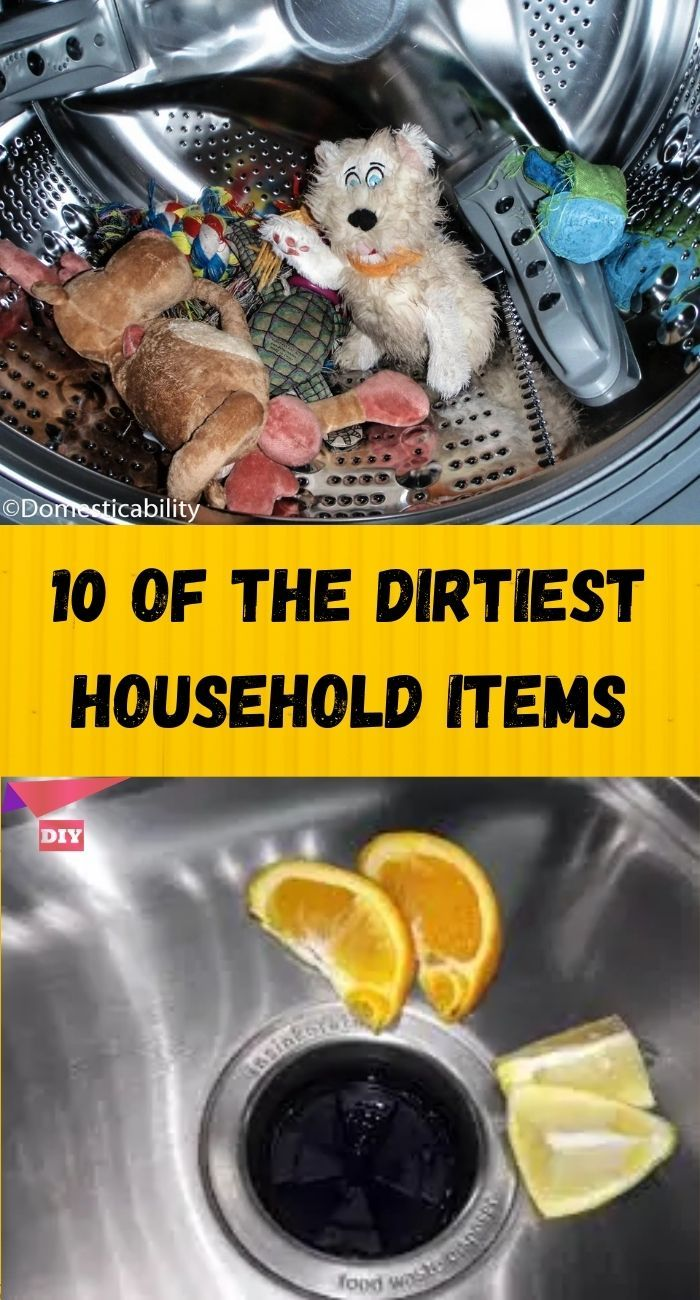 Photo of 10 Of The Dirtiest Household Items