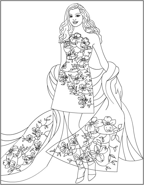Nicole\'s Free Coloring Pages: Floral Fantasy * Coloring pages ...