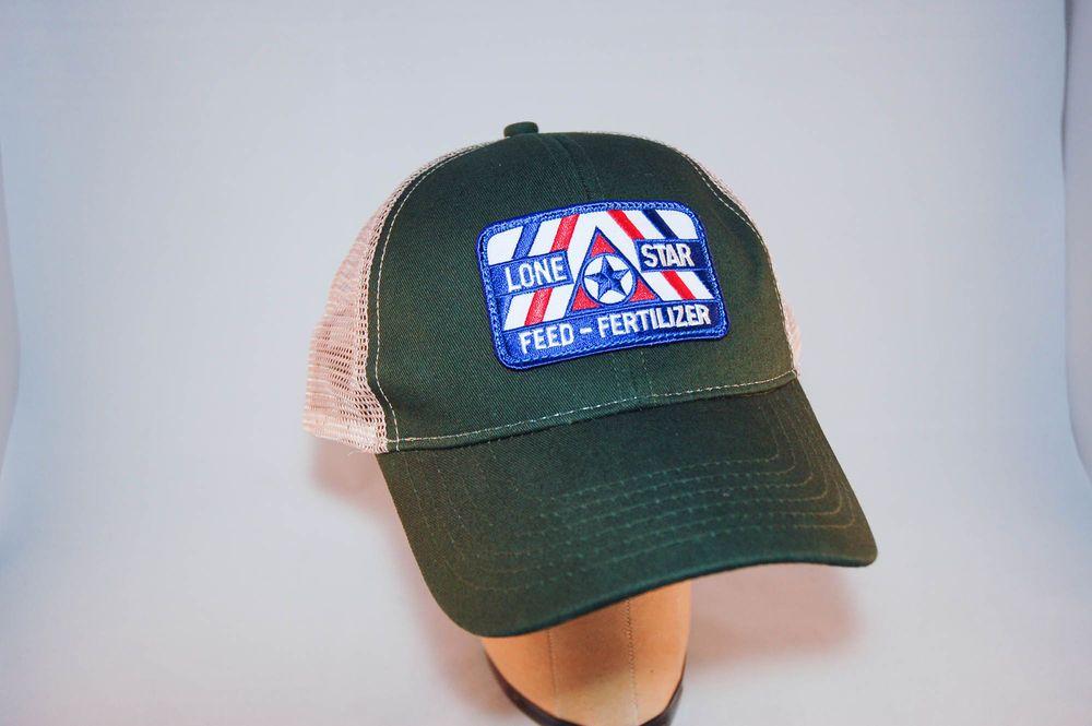 924c9602 Lone Star Feed – Fertilizer Mesh Snapback Hat – Excellent Condition  #PinpointMonograms #BaseballCap