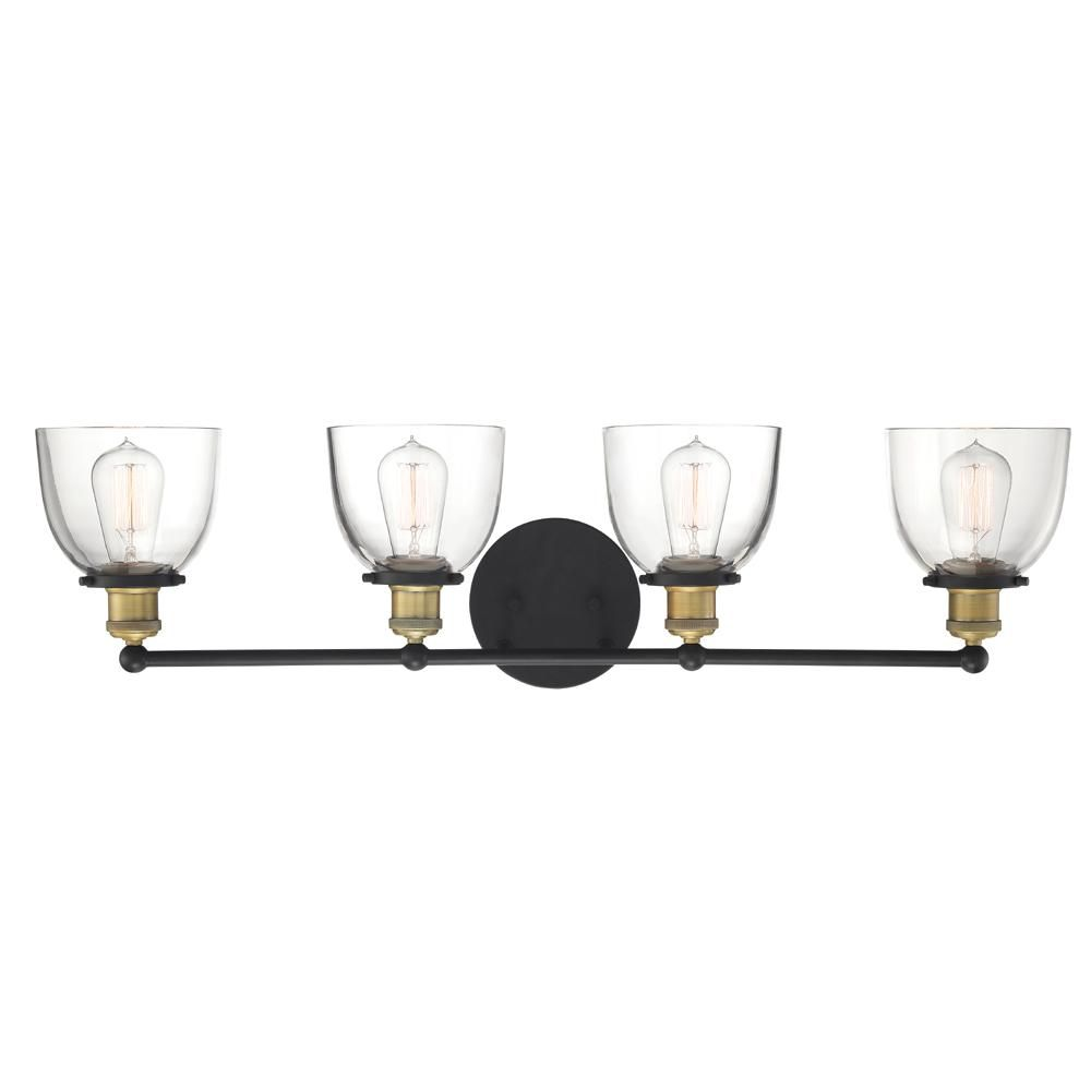 Photo of Designers Fountain Bryson 3-Light Vintage Bronze Bath Bar Vanity Light 92603-VB – The Home Depot