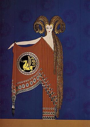 Photo of Ŧhe ₵oincidental Ðandy: The Prolific Art, Illustrations & Designs of Erté