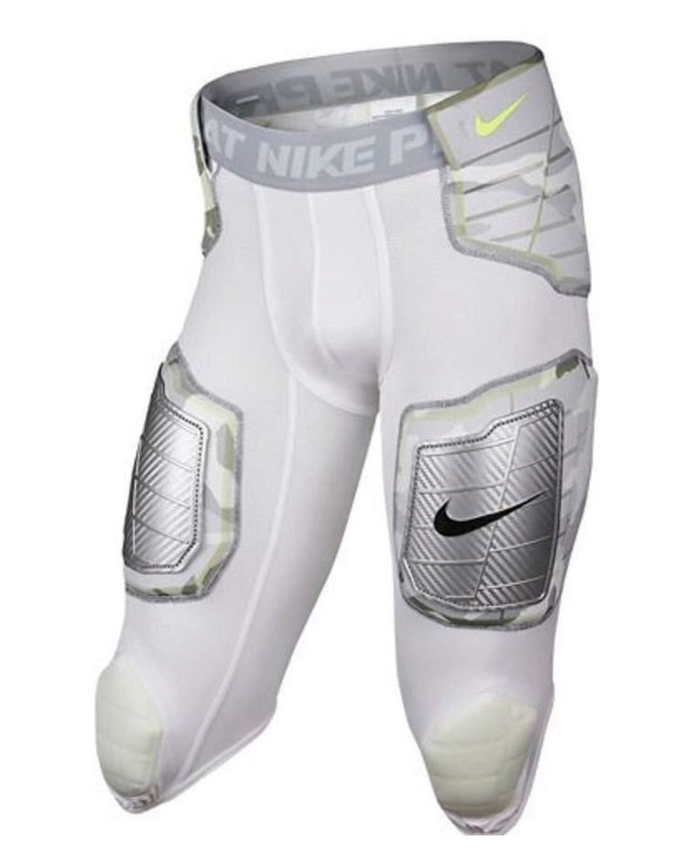 730072ac726 NEW Mens M L NIKE Pro Combat Hyperstrong 3.0 Hard Plate Football 3 4 Girdle  CAMO