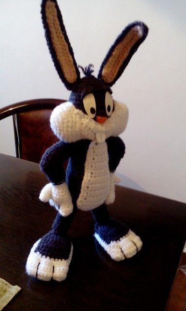 Yeni Amigurumi Bugs Bunny Tavşan Oyuncak | Tığ desenleri, Bugs ... | 640x384
