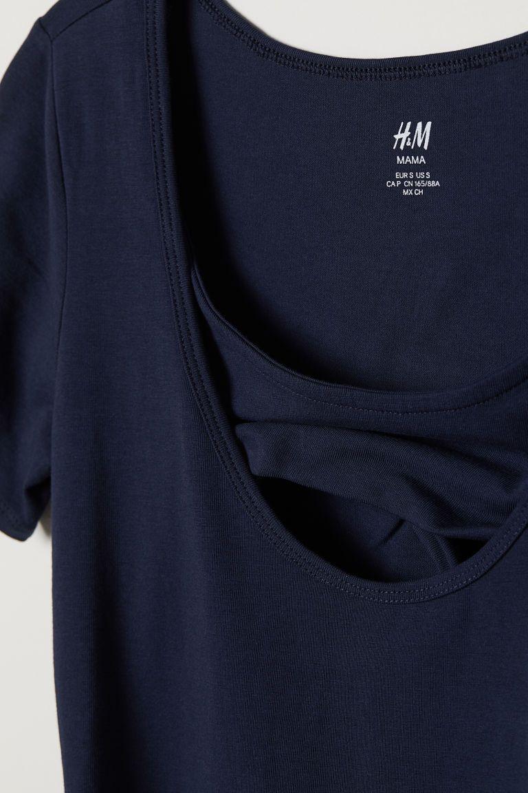 2a0228d31a77 МАМА Платье для кормления - Темно-синий - Женщины   H M RU 2 ...