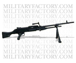 Picture of the Enfield L7 GPMG (General Purpose Machine Gun)