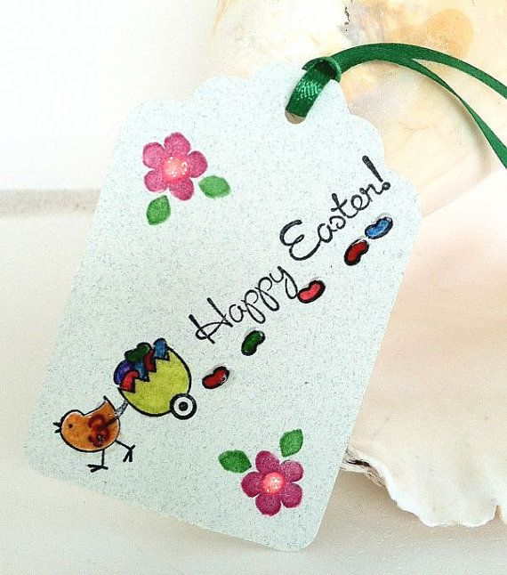 Easter Tags Easter Party Favor Tags Etsy Thank You by natashaaloha, $5.99