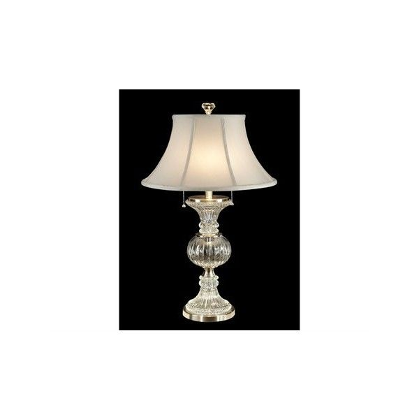 Pull Chain Table Lamp Dale Tiffany Granada Twolight Table Lamp $250 ❤ Liked On