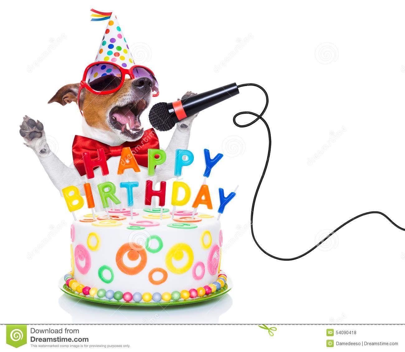 Happy Birthday Dog Clipart Free Happy birthday dog