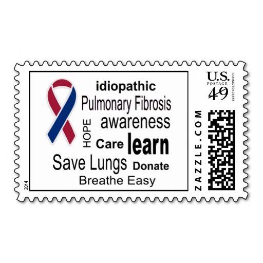 Pulmonary Fibrosis Awareness Postage Stamps Zazzle Com Pulmonary Fibrosis Awareness Pulmonary Fibrosis Awareness