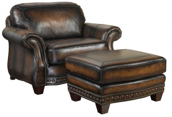 Leather Chair And Ottoman Stetson By Broyhill Furniture Chair And Ottoman Broyhill Furniture Chair