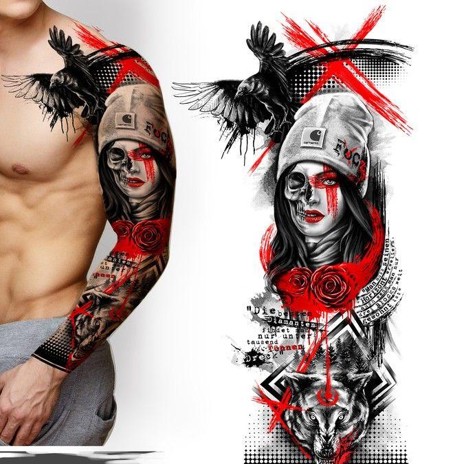 Lady Justice Body Art Tattoos Justice Tattoo Sleeve Tattoos 9