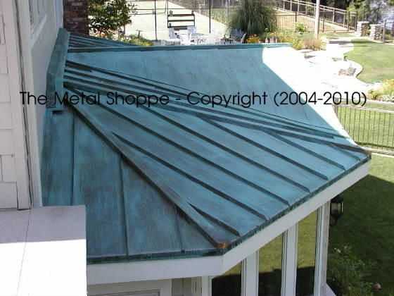 The Metal Shoppe Custom Metal Fabrication And Coppersmithing Roofs Standing Seam Metal Roof Copper Roof Metal Roofing Prices