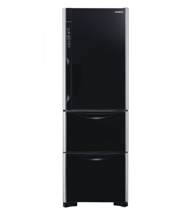 Hitachi 390 Ltr R SG37BPND GS Three Door Refrigerator Gla Energy Efficient  And Eco