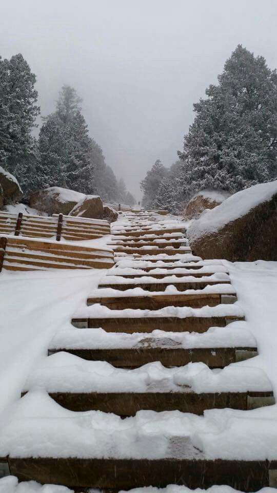 Manitou Springs incline,today 3-19-2016 #manitousprings Manitou Springs incline,today 3-19-2016 #manitousprings