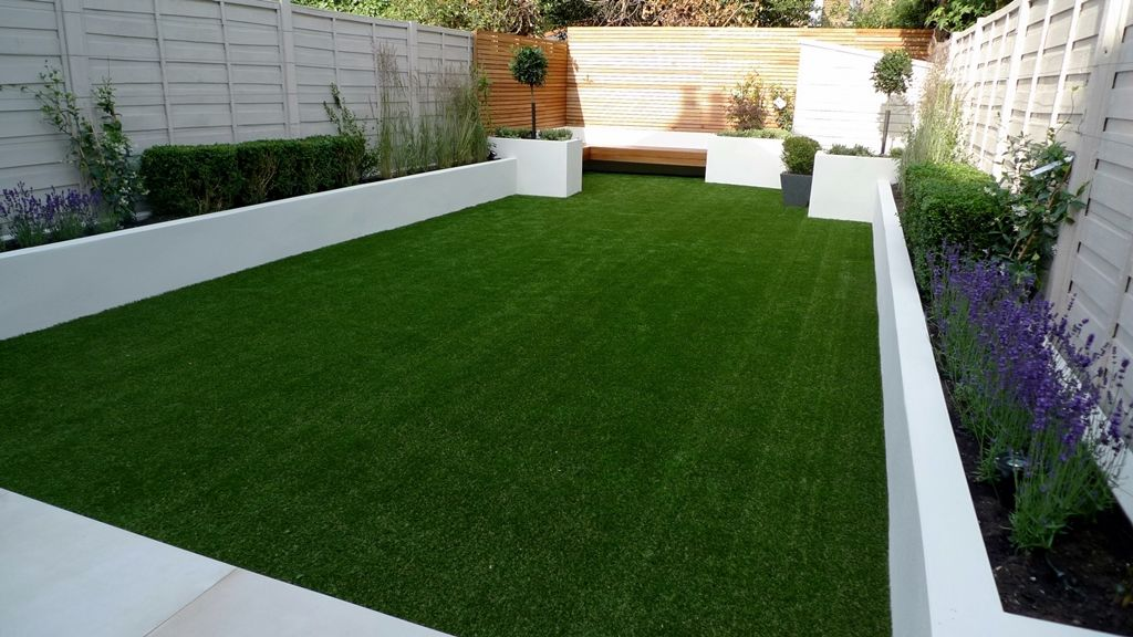 artificial grass hardwood easi planting london chelsea wandsworth clapham
