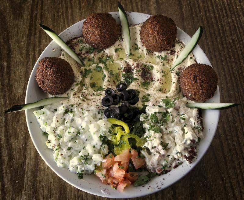 little jerusalem cafe palestinian food courier journal review
