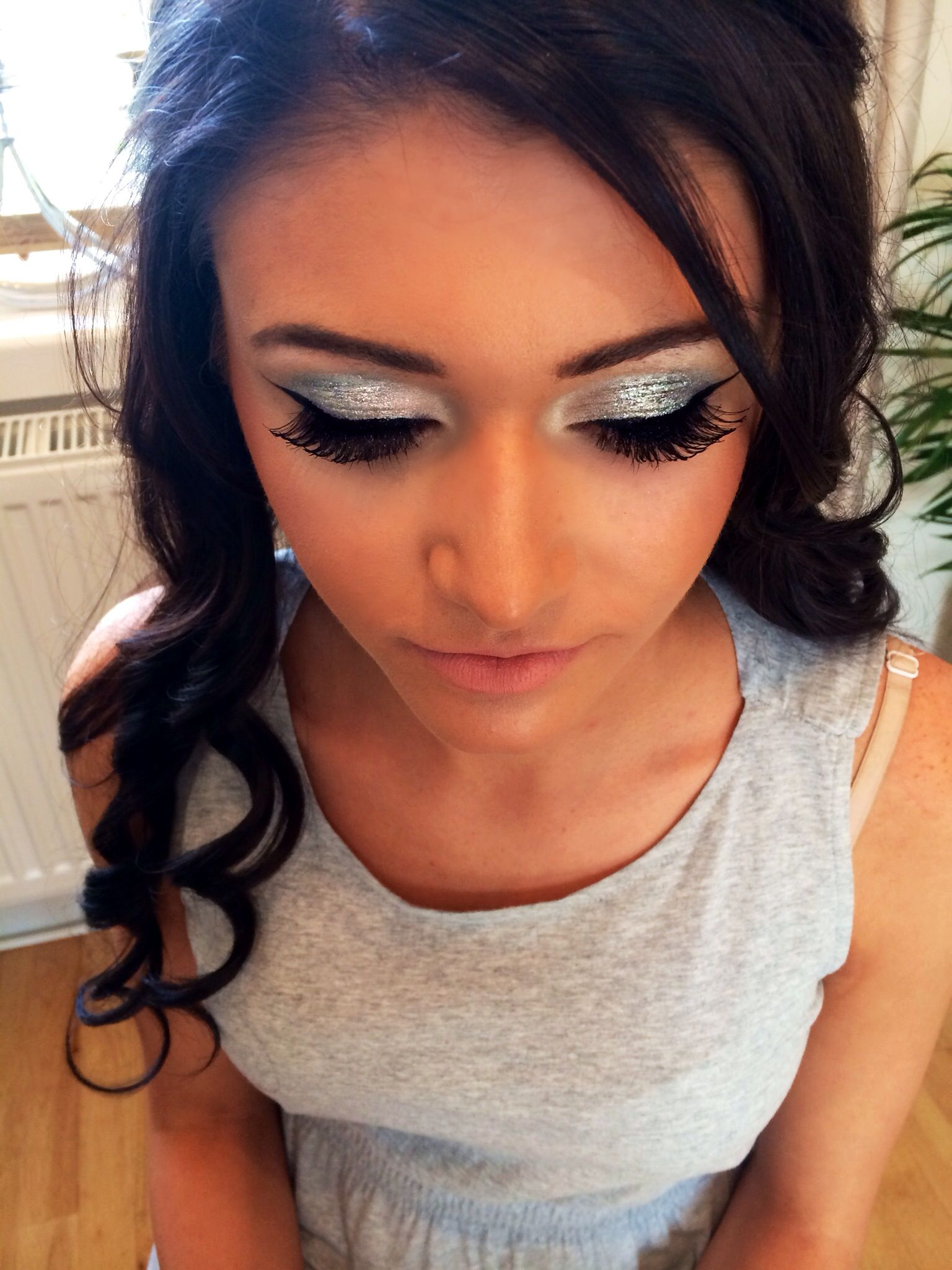 Prom makeup for Jade using MAC Pro's 3D Glitter