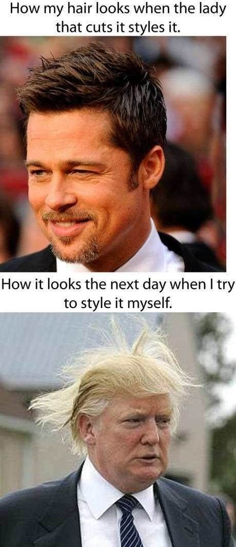 After Getting A New Haircut Funny Meme Pictures Laugh Funny Pictures