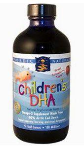 Children's DHA, 4 fl oz (119 ml): Nordic Naturals